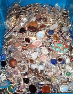 Die Schatzkiste - Silberschmuck mit echten Steinen