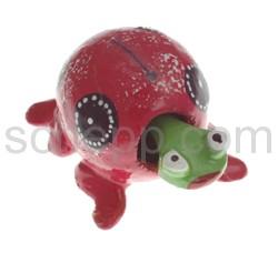 Wackeltier Schildkröte, handbemalt