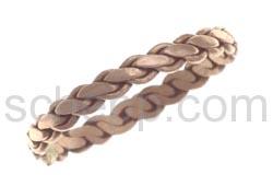 Ring, Kupfer, geflochten
