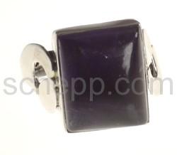 Ring, Amethyst, rechteckig