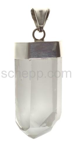 Anhänger, Bergkristall, Kristallform