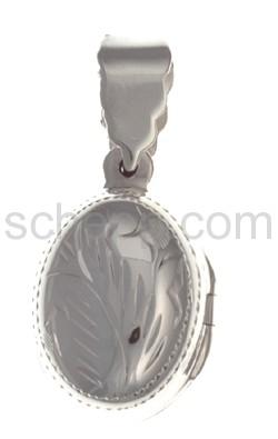 Medaillon zum Aufklappen, oval