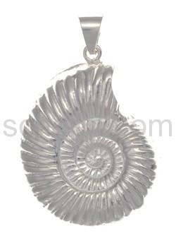 Anhänger Schnecke, Ammonit