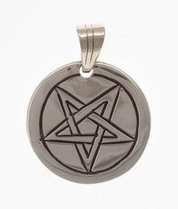 Amulett Pentagramm auf der Spize