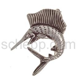 Brosche Schwertfisch