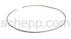 Halsspange, rund, Ø 2mm