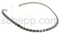 Halsspange, Kordel/geflochten