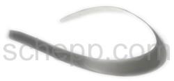 Halsspange, 1,5 cm, glatt