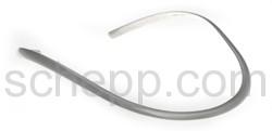 Halsspange, 0,6 cm, glatt