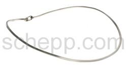 Halsspange, 2 mm, rund