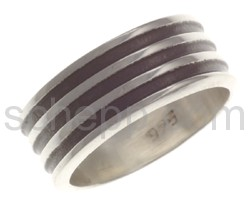 Ring Silber Silberring - Herrenring