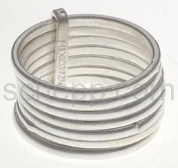 Ring aus 7 losen Einzelringen