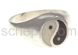 Seal ring Yin & Yang, small