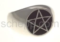 Siegelring Hexagramm