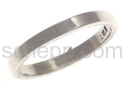 Ring, flach, schmal
