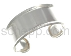 Bangle with brim