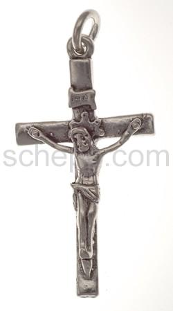 Anhänger, Kreuz mit Christusfigur