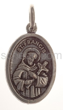 Amulett, Heiliger St. Anthony/Heiliger St. Francis