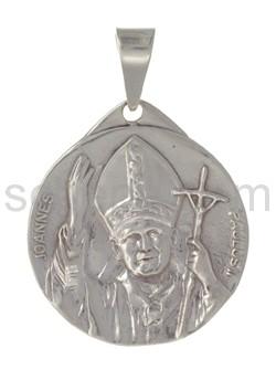 Amulett, Papst Johhannes Paul II./Petersdom, Rom