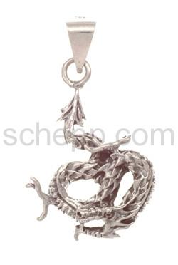 Pendant, Chinese dragon