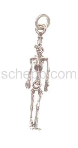 Anhänger Skelett, beweglich