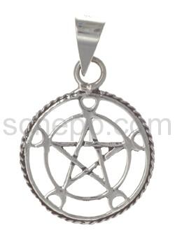 Anhänger Pentagramm