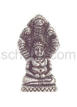 Anhänger, Buddha mit Schlangen