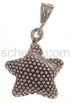 Pendant sea star, moderately large with dot-structure