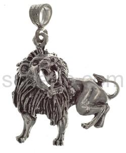 Pendant lion, large