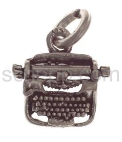 Anhänger Schreibmaschine