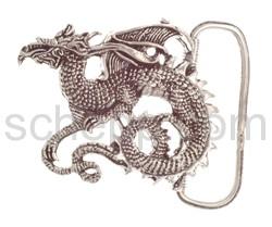 Gürtelschnalle mit chinesischem Drache