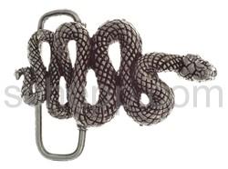 Gürtelschnalle mit Schlange