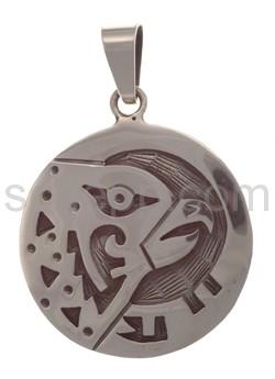 Anhänger Indianerschmuck, Adlerkopf (Hopi-Style)