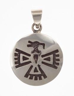 Anhänger Indianerschmuck, Adler (Hopi-Style)