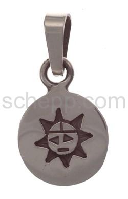 Anhänger Indianerschmuck, Sonne (Hopi-Style)