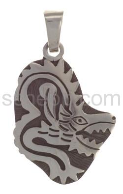 Anhänger Indianerschmuck, Drache (Hopi-Style)