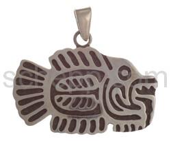 Anhänger prähispanisch, Fisch