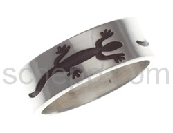 Ring with lizard motif (Hopi style)
