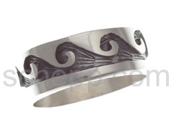Ring with wave motif (Hopi style)