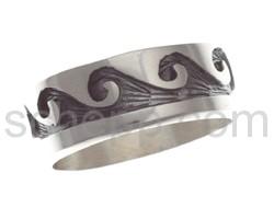 Ring mit Wellenmotiv (Hopi-Style)