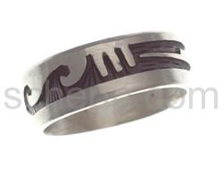 Ring mit Hopi-Ornamenten (Hopi-Style)