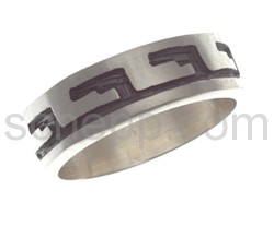 Ring mit Hopi-Ornament (Hopi-Style)