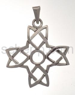 Anhänger keltisch, Kreuz, gleichschenkelig