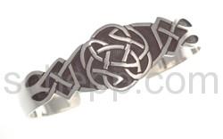 Armspange mit keltischem Knotenmuster