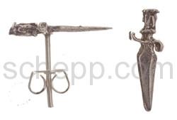 Ohrstecker Schwert