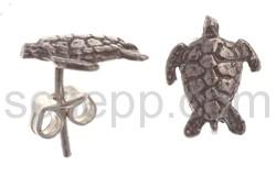 Ohrstecker Wasserschildkröte