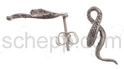 Ohrstecker Schlange
