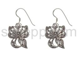 Ohrhänger Schmetterling