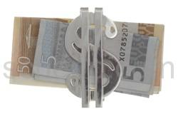 Geldspange Dollarzeichen