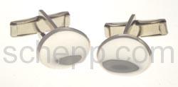 Manschettenknöpfe, oval